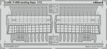 P-40N Warhawk - Landing flaps [Special Hobby] · EDU 72658 ·  Eduard · 1:72