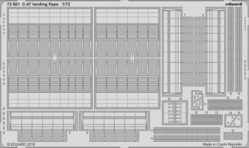 C-47 Skytrain - Landing flaps [HobbyBoss] · EDU 72661 ·  Eduard · 1:72