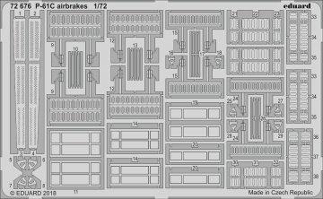 US P-61C Black Widow - Airbrakes [HobbyBoss] · EDU 72676 ·  Eduard · 1:72