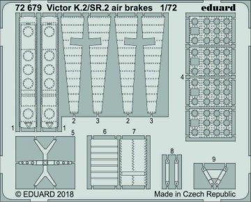 Handley Page Victor K.2/SR.2 - Airbrakes [Airfix] · EDU 72679 ·  Eduard · 1:72