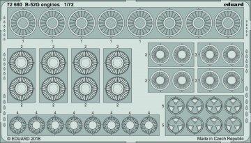 B-52G Stratofortress - Engines [Modelcollect] · EDU 72680 ·  Eduard · 1:72