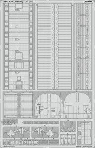 B-52G Stratofortress - Bomb bay [Modelcollect] · EDU 72682 ·  Eduard · 1:72