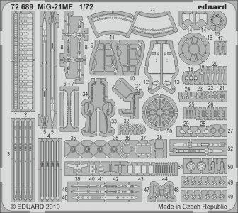 MiG-21MF [Eduard] · EDU 72689 ·  Eduard · 1:72