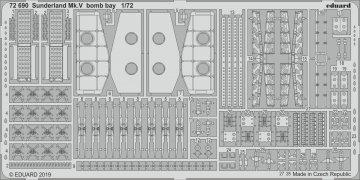 Sunderland Mk.V - Bomb bay [Special Hobby] · EDU 72690 ·  Eduard · 1:72