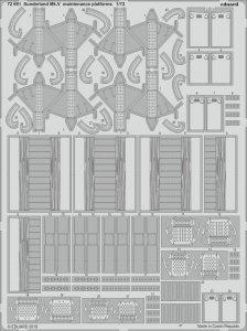 Sunderland Mk.V - Maintenance platforms [Special Hobby] · EDU 72691 ·  Eduard · 1:72