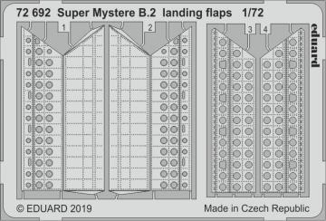 Super Mystere B.2 - Landing flaps [Special Hobby] · EDU 72692 ·  Eduard · 1:72