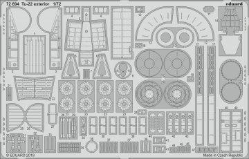 Tu-22 - Exterior [Trumpeter] · EDU 72694 ·  Eduard · 1:72