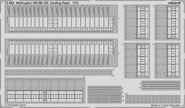 Wellington GR Mk.VIII - Landing flaps [Airfix] · EDU 72698 ·  Eduard · 1:72