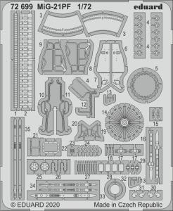 MiG-21PF [Eduard] · EDU 72699 ·  Eduard · 1:72