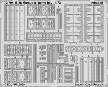 B-26 Marauder - Bomb bay [Eduard] · EDU 72704 ·  Eduard · 1:72