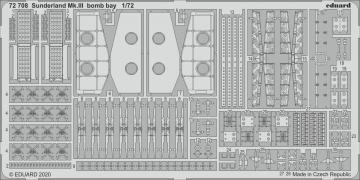 Sunderland Mk.III - Bomb bay [Special Hobby] · EDU 72708 ·  Eduard · 1:72