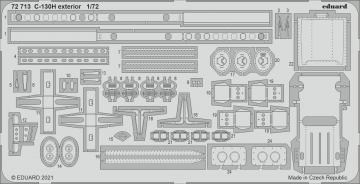 C-130H Hercules - Exterior [Zvezda] · EDU 72713 ·  Eduard · 1:72
