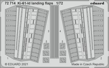 Ki-61-Id - Landing flaps [Tamiya] · EDU 72714 ·  Eduard · 1:72