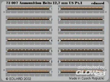Ammunition Belts 12,7mm US · EDU 73007 ·  Eduard · 1:72