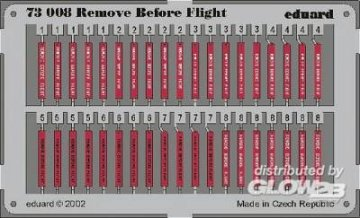 Remove bevor Flight · EDU 73008 ·  Eduard · 1:72