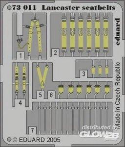 Lancaster - Seatbelts · EDU 73011 ·  Eduard · 1:72