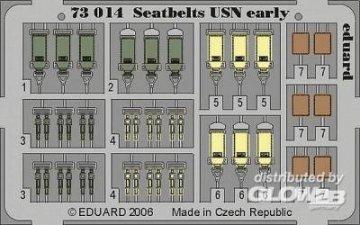 Seatbelts USN early · EDU 73014 ·  Eduard · 1:72