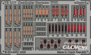 Seatbelts German WWI · EDU 73017 ·  Eduard · 1:72