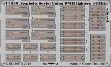 Seatbelts Soviet Union WWII fighters STEEL · EDU 73039 ·  Eduard · 1:72