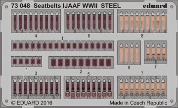 Seatbelts IJAAF WWII STEEL · EDU 73048 ·  Eduard · 1:72