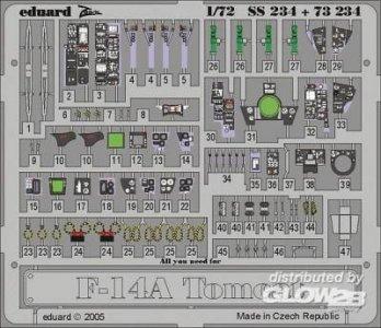 F-14A Tomcat · EDU 73234 ·  Eduard · 1:72