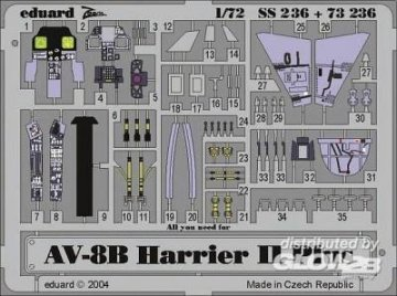 AV-8B Harrier II Plus · EDU 73236 ·  Eduard · 1:72