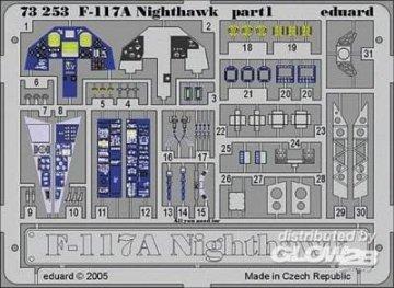 F-117 A Nighthawk · EDU 73253 ·  Eduard · 1:72