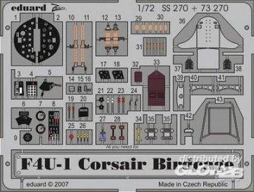 F4U-1 Corsair  Birdcage [Tamiya] · EDU 73270 ·  Eduard · 1:72