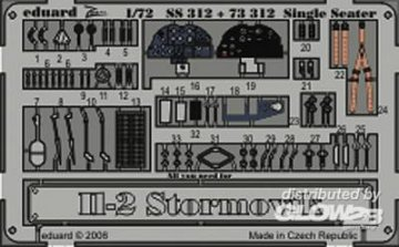 Il-2 Stormovik Single Seater [Academy] · EDU 73312 ·  Eduard · 1:72