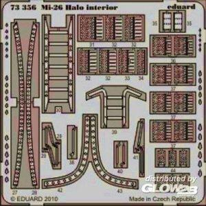 Mi-26 Halo - Interior [Revell] · EDU 73356 ·  Eduard · 1:72