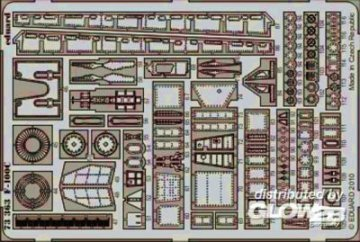 F-100C S.A. [Trumpeter] · EDU 73363 ·  Eduard · 1:72