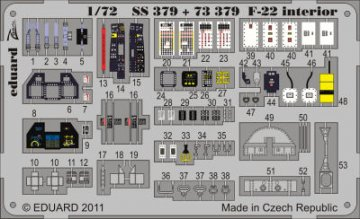 F-22 S.A. [Fujimi] · EDU 73379 ·  Eduard · 1:72