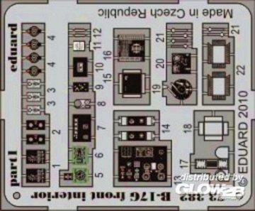 B-17G front - Interior [Revell] · EDU 73382 ·  Eduard · 1:72