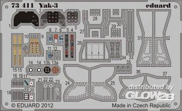 Yak-3 [Zvezda] · EDU 73411 ·  Eduard · 1:72