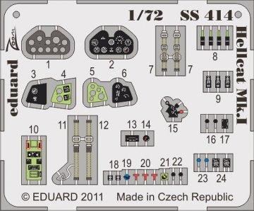Hellcat Mk.I S.A. [Eduard] · EDU 73414 ·  Eduard · 1:72
