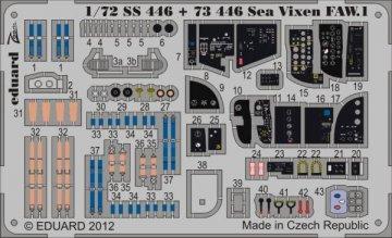 Sea Vixen FAW. 1 S.A. [Cyber Hobby] · EDU 73446 ·  Eduard · 1:72