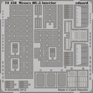 Wessex HU.5 - Interior S.A. [Italeri] · EDU 73458 ·  Eduard · 1:72