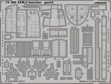 Sea King AEW.2 - Interior S.A. [Cyber Hobby] · EDU 73468 ·  Eduard · 1:72