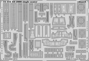 EF-2000 single seater [Hasegawa] · EDU 73473 ·  Eduard · 1:72