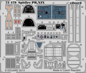 Spitfire PR.XIX [Airfix] · EDU 73479 ·  Eduard · 1:72