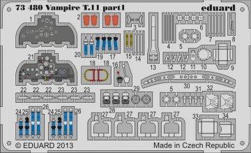 Vampire T.11 [Airfix] · EDU 73480 ·  Eduard · 1:72
