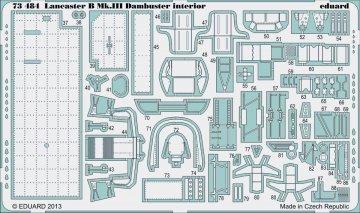Lancaster B Mk.III Dambuster - Interior [Airfix] · EDU 73484 ·  Eduard · 1:72