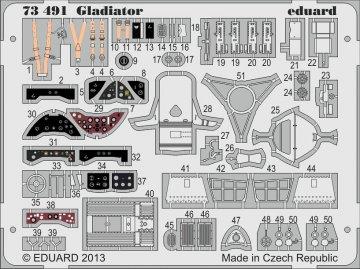 Gloster Gladiator [Airfix] · EDU 73491 ·  Eduard · 1:72