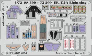 English Electric Lightning F2A S.A. [Airfix] · EDU 73500 ·  Eduard · 1:72