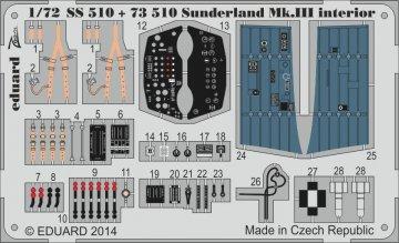 Sunderland Mk.III - Interior S.A. [Italeri] · EDU 73510 ·  Eduard · 1:72