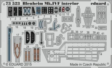 Bristol Blenheim Mk.IVF interior S.A. [Airfix] · EDU 73523 ·  Eduard · 1:72