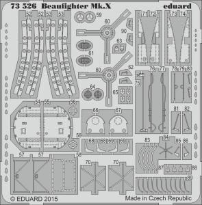 Beaufighter Mk.X [Airfix] · EDU 73526 ·  Eduard · 1:72