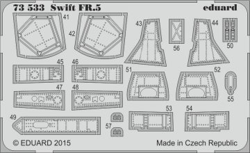 Supermarine Swift FR.5 [Airfix] · EDU 73533 ·  Eduard · 1:72