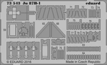 Junkers Ju 87 B-1 [Airfix] · EDU 73543 ·  Eduard · 1:72