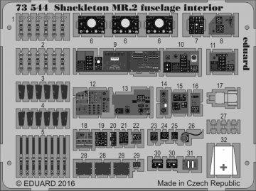 Shackleton MR.2 fuselage - Interior [Airfix] · EDU 73544 ·  Eduard · 1:72